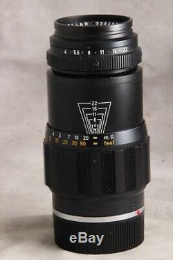 135mm f/4 Tele-Elmar M Leitz Wetzlar