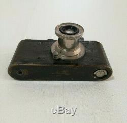 1930 Leica 1 Camera Leitz Elmar 13.5 F 50mm Lens Serial No 59097, Cased