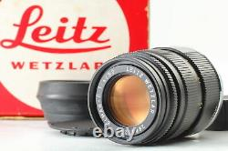 A MINT in Box Hood Leica Leitz Wetzlar Elmar-C 90mm f/4 for M Mount Lens JAPAN