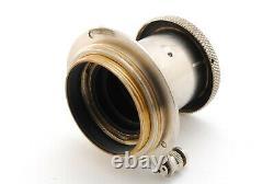 B V. Good Leica Elmar 50mm f/3.5 Nickel Collapsible Lens L39 Screw Leitz 6970