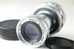 C Normal Leica Elmar M 9cm 90mm f/4 Collapsible Lens Leitz From JAPAN 6473