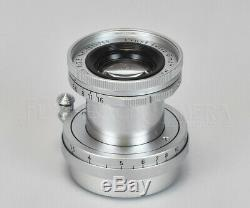 CLA'd Leitz Elmar 50mm f2.8 LTM f. Leica L/M cameras from JAPAN #017307