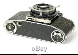 Camera Beier Beira II 35mm rangefinder camera. Okula Leitz Leica Elmar lens
