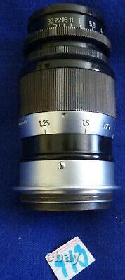 ERNST LEITZ WETZLAR ELMAR 14 / 9cm OBJEKTIV LENS (943)