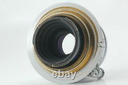EX+5 LEICA Leitz Elmar 5cm 50mm F/3.5 L39 Screw Mount Lens From JAPAN #FedEx
