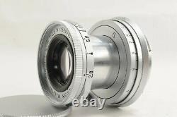 EXC+5 Leica Ernst Leitz GmbH Wetzlar Elmar 50mm 5cm f/2.8 Lens M JAPAN #1735