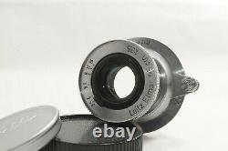 EXC+5 Leitz Elmar 5cm 50mm f/3.5 Lens Test shooting from JAPAN by DHL #1762
