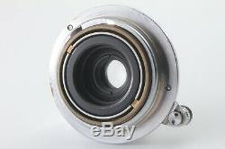 EXC+5 Leitz Leica Elmar 3.5cm 35mm f/3.5 L Screw Mount L39 LTM From JAPAN #