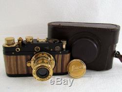 EXCELLENT Leica-II(D) Kriegsmarine WWII Vintage Russia Camera + Lens Leitz Elmar