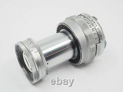 Early 1954 LEICA Leitz Wetzlar Elmar f=9cm 14 M mount Collapsible Camera Lens