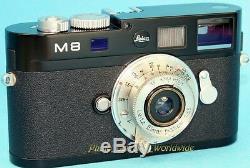 Early RARE! NICKEL Elmar f=3.5cm 13.5 LEICA LTM/L39 Lens by LEITZ Wetzlar 1934