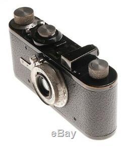 Elmar 13.5 f=50mm Nickle Rare Leitz Lens Leica I Mod. A Black Paint Camera kit