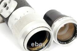 Elmar 14/135mm LEICA-M Telephoto Lens 135mm F4 by LEITZ Wetzlar Leica M3 M7 M10