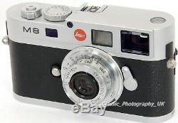 Elmar f=3.5cm 13.5 LEICA LTM Leica L39 Lens made by Ernst LEITZ Wetzlar in 1938