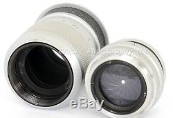 Elmar f=9cm 14 Telephoto Lens 90mm F4 by LEITZ Wetzlar for LEICA 3D Leica 3G M9