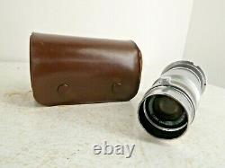 Ernst Leitz GMBH Elmar F-9cm 14 Film Camera Lens with Case I28