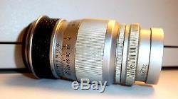 Ernst Leitz GmbH Wetzlar, Elmar f=9cm 14 Lens. Used Good