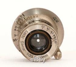 Ernst Leitz Leica Elmar 3,5 / 50mm für Leica I mit Schraubgewinde M39