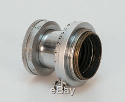 Ernst Leitz Wetzlar Elmar 2.8 50mm // Leica Screw M39 L39 LTM