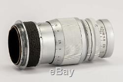 Ernst Leitz Wetzlar Elmar 9cm 9 cm 90mm 90 mm 4 14 Leica M39 Anschluss