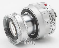 Ernst Leitz Wetzlar Elmar 9cm 9 cm 90mm 90 mm 4 Leica M Bajonett Collapsible