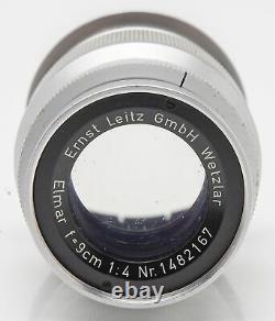 Ernst Leitz Wetzlar Elmar 9cm 90mm 90 mm 4 14 M39 Anschluss