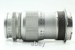 Exc+4 Leica Ernst Leitz Wetzlar Elmar 9cm 90mm f4 Lens VM M from Japan #723