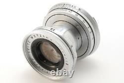 Exc+5 Leica Leitz Elmar 50mm F2.8 M Mount S/n1638119 Mf Lens By Dhl