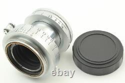 Exc+5 Leica Leitz Elmar 5cm 50mm f2.8 LTM L39 Lens From JAPAN #982