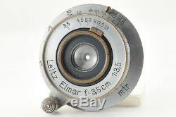 Excellent Leica Leitz Elmar 3.5cm (35mm) f/3.5 Screw Mount from Japan #4092