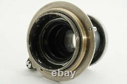 =Excellent= Leica Leitz Elmar 50mm f/3.5 for L39 LTM + LM conversion ring 253