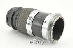 Excellent Leica Leitz Elmar 9cm (90mm) f/4 L mount Black from Japan #3702