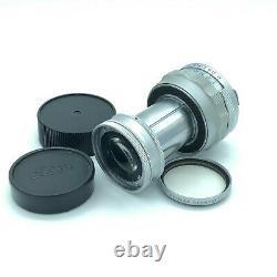 ExcellentLeica Elmar M 9cm 90mm f/4 Collapsible Lens Leitz From Japan