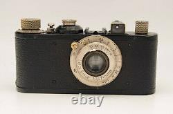 Film camera Leica Standart with lens Leitz Elmar 3.5/50mm