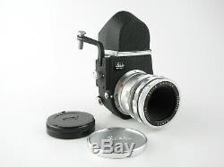 Für Leica M Leitz Canada Elmar 13.5/65 Objektiv lens 10 blades + Visoflex III