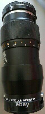 Für Leica M Leitz Wetzlar Tele-Elmar 14/135 Objektiv lens