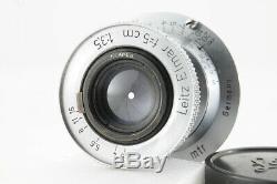 Good Leica Leitz Elmar 5cm(50mm) f/3.5 Screw L39 LTM from Japan #4388