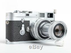KIT Ernst Leitz Wetzlar Leica Elmar Lens 9cm f/4 + Hood M Mount + B+W FILTERS
