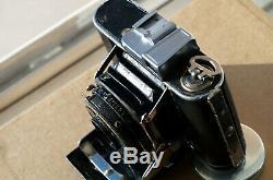 Kodak Nagel Vollenda 48 early model with Leitz Elmar, camera poor, lens is nice