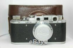 LEICA DRP Vintage 35mm Rangefinder Camera Lens Leitz Elmar (Zorky Fed) copy