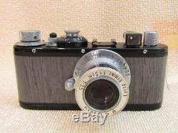 LEICA (E) STANDARD DRP WWII Vintage Russian Camera + Lens Leitz Elmar EXCELLENT