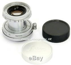 LEICA Elmar f=5cm 12.8 / ELMAR LTM 2.8/50mm Lens Leitz ELMOO 11512 made in 1959