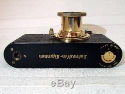 LEICA-II(D) LUFTWAFFE WWII + Lens Leitz Elmar Vintage Russian 35mm Camera EXC