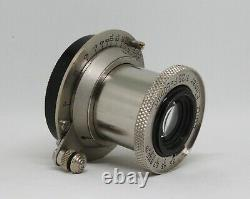 LEICA LEITZ 50mm F3.5 NICKEL ELMAR IN SCREW MOUNT