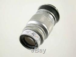 LEICA LEITZ ELMAR 4/9cm f4 4 90mm 90 chrome Germany LTM M39 MFT NEX M 11730 /18
