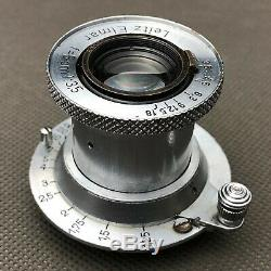 LEICA LEITZ ELMAR F = 5cm (50mm) 13.5 3,5/50 Tested