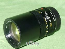 LEICA LEITZ ELMAR R 1 4/180 Tele 180mm TOP Zustand
