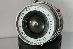 LEICA LEITZ WETZLAR 50mm F 2.8 ELMAR M MOUNT LENS