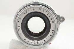 LEICA LEITZ WETZLAR ELMAR 50mm F2.8 Collapsible Lens For M Mount #190712i