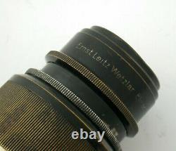 LEICA Leitz Elmar 4,5/135 135 135mm F4,5 blackpaint Nickel M39 LTM rare rar /20